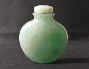 Apple green Jade Snuffbottle #13